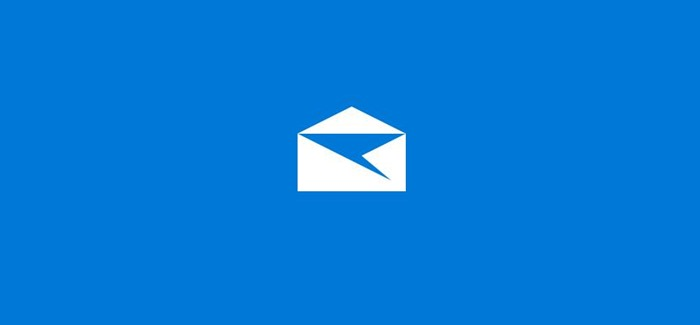 sign out of Mail app in Windows 10