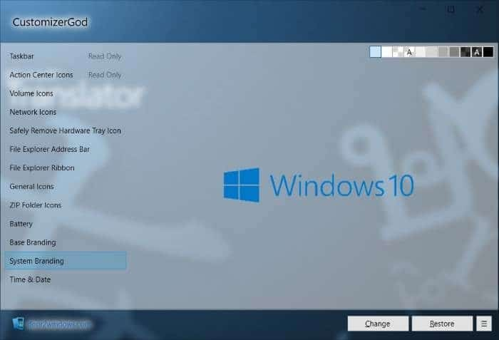 Change Windows 10 icons pic2