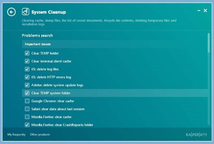 Kaspersky Cleaner Free for Windows 10 picture5
