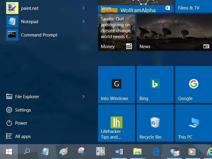 Windows 10 Site Of How To Pin Websites To Start Menu In Windows 10