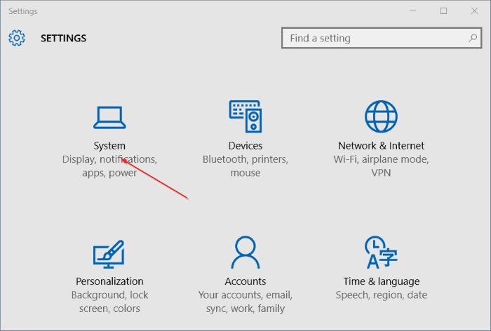 Uninstall programs in Windows 10 step2
