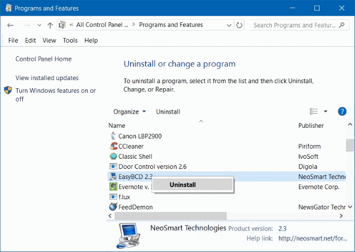 how to close a program on windows 10