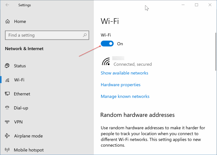 airplane mode not turning off in Windows 10 pic4