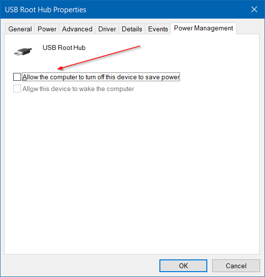 charge your phone when Windows 10 laptop is in sleep mode step4