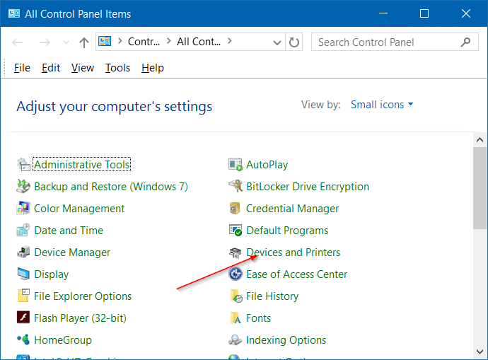 iphone not detected in Windows 10 step2