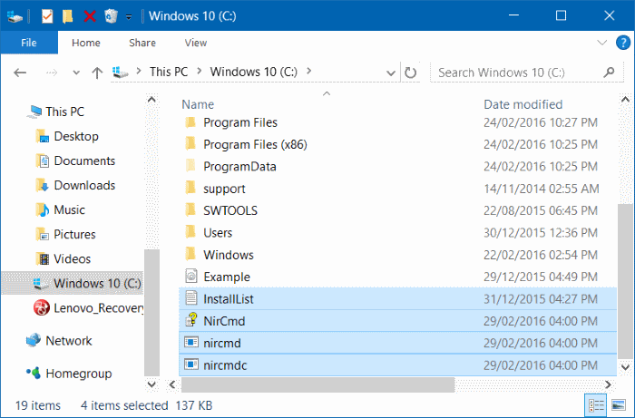 keyboard shortcut to open CDDVD tray in Windows 10 pic2