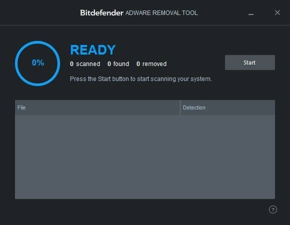 Bitdefender adware removal tool for windows 1