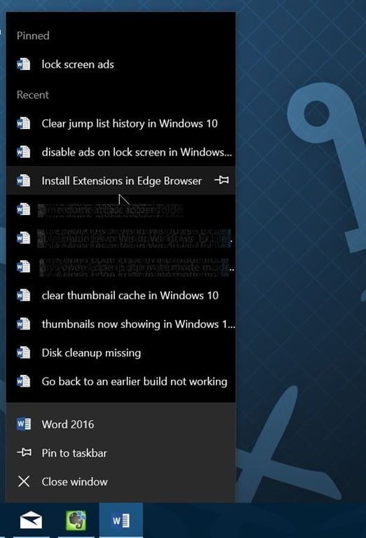 how to clear windows 10