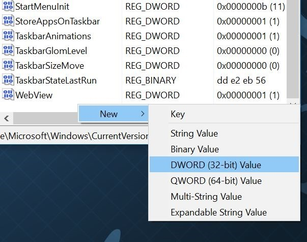 Increase the number of items in jump lists in Windows 10 step3