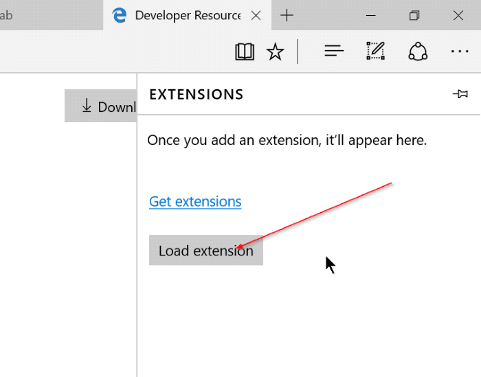Install Edge Extensions in Windows 10 Step7