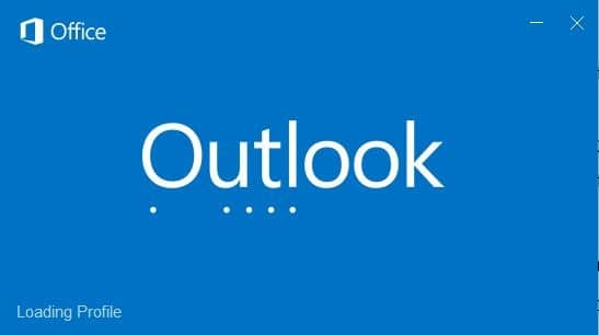 Outlook 2016 hanging at processing starting loading profile (2)