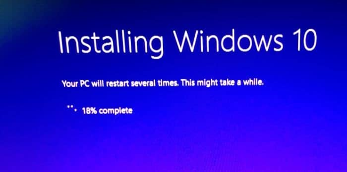 Reinstall Windows 10 without data loss step15