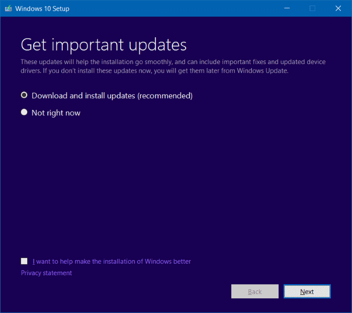 Reinstall Windows 10 without data loss step6