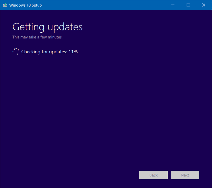 Reinstall Windows 10 without data loss step9