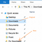 How To Rename Quick Access Folders In Windows 10