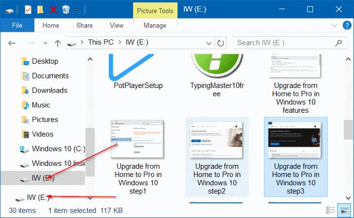 USB drive appears twice (4)