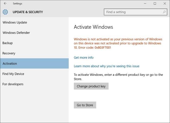 windows 10 professional activation key 2017