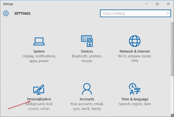add another column to Start menu in Windows 10 step2