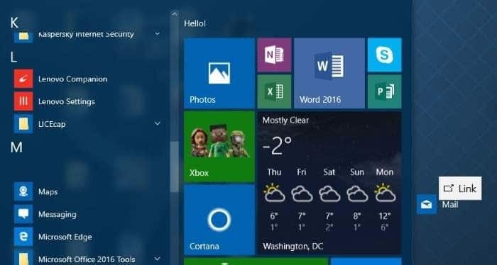 create keyboard shortcuts to open apps in Windows 10 step1