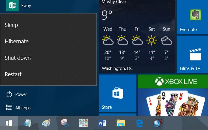 keyboard shortcuts to shutdown restart Windows 10 step7.jpg