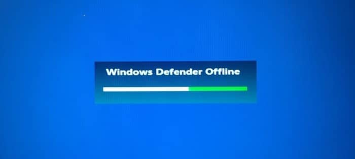 use Windows defender offline scan in Windows 10 pic1
