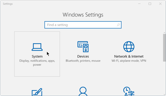 Check install date of apps and programs in Windows 10 step2