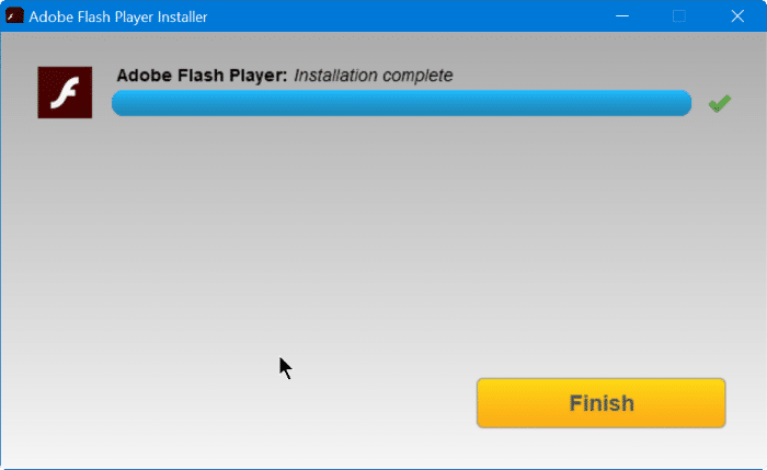 Install Adobe Flash Playre in Vivaldi browser step11