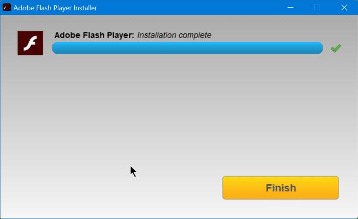 Install Adobe Flash Playre in Vivaldi browser step11