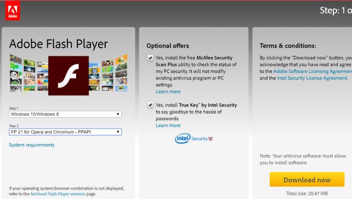 Install Adobe Flash Playre in Vivaldi browser step5