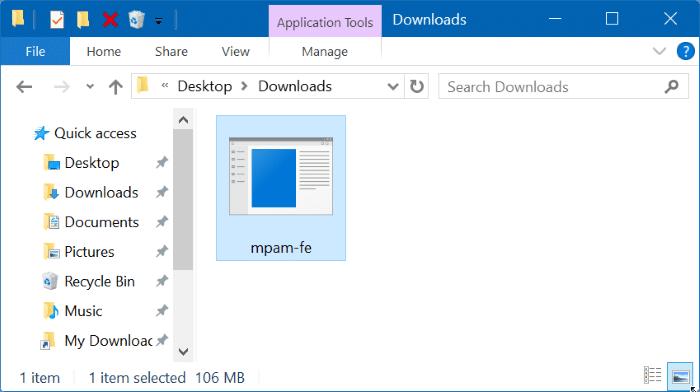 Manually update Windows Defender in Windows 10 Step4