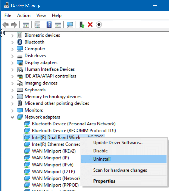 Windows 10 not remembering wifi password step5