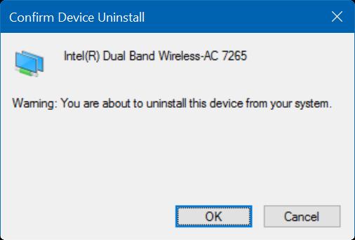 Windows 10 not remembering wifi password step6