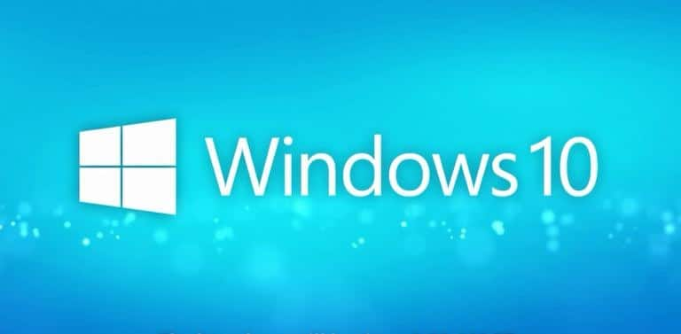 Windows version 10 logo