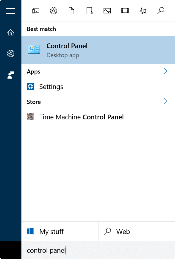 enable or disable language bar in Windows 10 step1