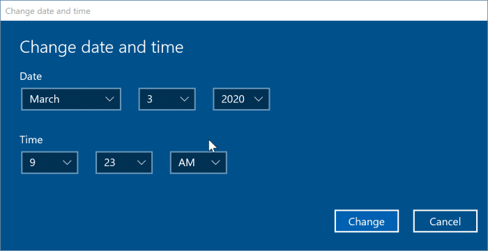 incorrect date and time in Windows 10 pic4