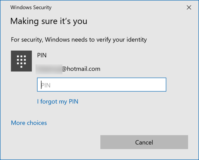 sign out of Microsoft account in Windows 10 pic3
