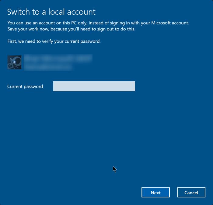 how to cancel password on windows 10
