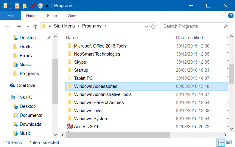 windows 10 start menu all apps missing icons super user