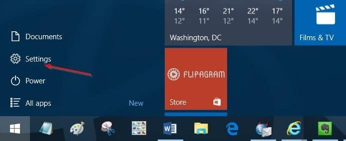 Bluetooth icon missing from Windows 10 system tray step1