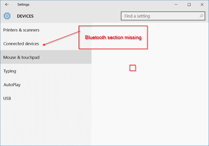 Bluetooth missing from Settings in Windows 10 image2