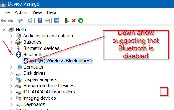 how to open bluetooth in windows 7