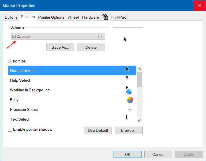 Download Mac Mouse Cursor For Windows 10