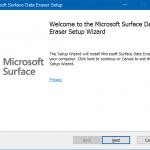 Download Microsoft Surface Data Eraser Tool