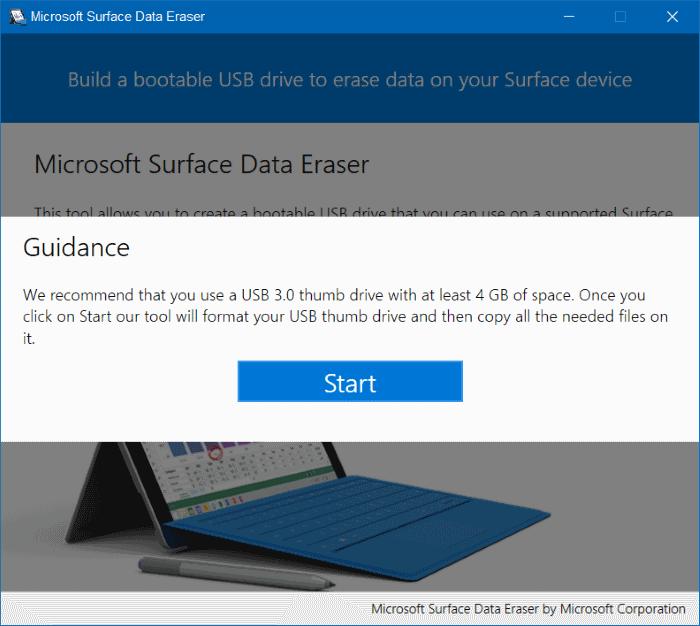 Microsoft Surface Data Eraser pic3