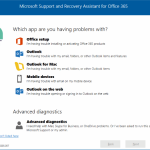 Download Office 365 Troubleshooting Tool From Microsoft