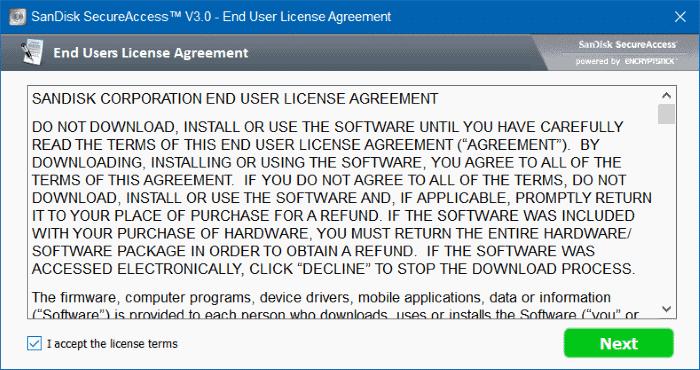 password protect usb free full version