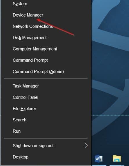 unable to adjust brightness in Windows 10 step1