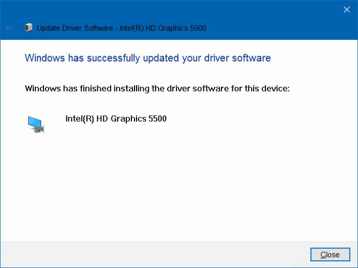 unable to adjust brightness in Windows 10 step8