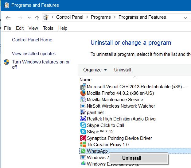descargar whatsapp gratis para pc windows 7 ultimate