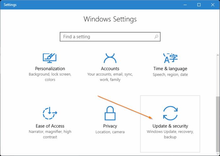 Access UEFI settings in Windows 10 step2